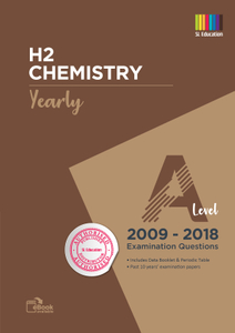 TYS A Level H2 Chemistry (Yearly) Qns + Ans 2009 - 2018