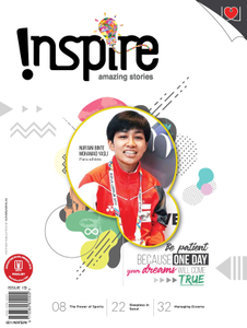 """INSPIRE"" Subscription - 5 ISSUES A YEAR (2019)"