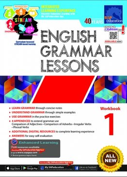 English Grammar Lessons Workbook 1