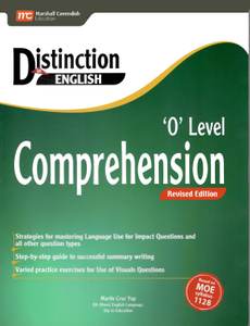 Distinction in English: O Level Comprehension (Rev Ed)