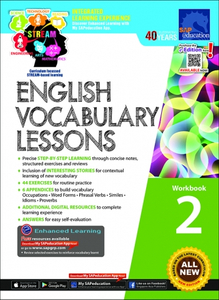 English Vocabulary Lessons Workbook 2