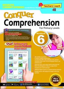 Conquer Comprehension Workbook 6