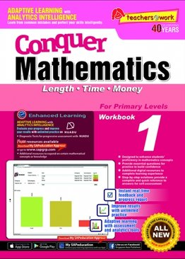 Conquer Mathematics Length - Time - Money Book 1