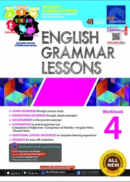 English Grammar Lessons Workbook 4