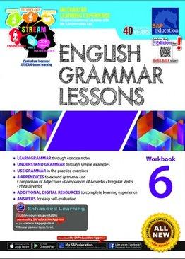 English Grammar Lessons Workbook 6