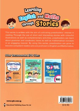 Learning English and Maths Through Stories Nursery