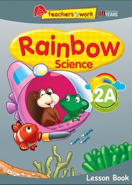 Rainbow Science Lesson Book K2A
