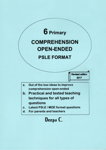 DRJ P6 Comprehension Open-ended [REVISED]