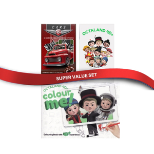 4D Flashcards Combo Set