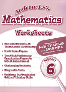 Andrew Er's Maths Worksheets 6