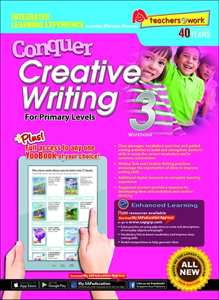 Conquer Creative Writing Workbook 3