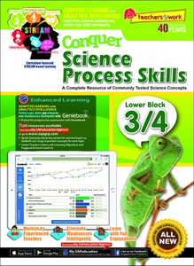 Conquer Science Process Skills [Lower Block 3/4]