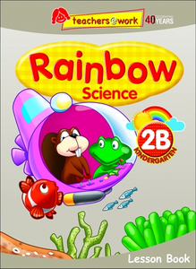 Rainbow Science Lesson Book K2B