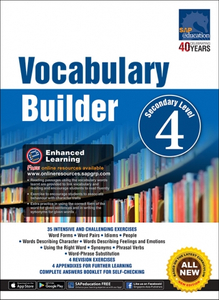 Vocabulary Builder Secondary Level 4