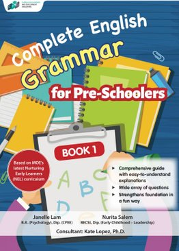 Complete Grammar for Pre-Schoolers Book 1