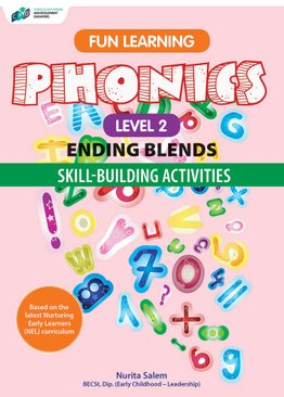 Fun Learning Phonics – Ending Blends Level 2