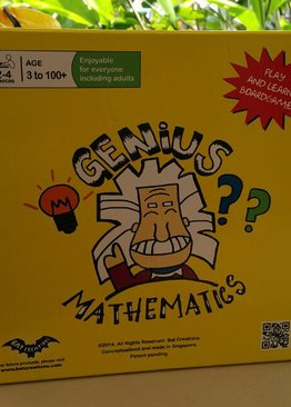 Genius Mathematics Board Game