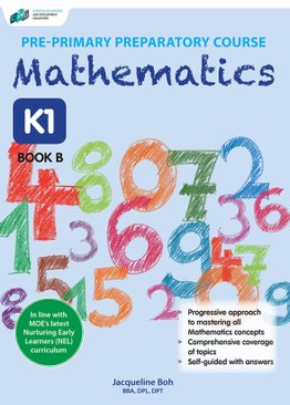Pre-primary Preparatory Course Mathematics K1 Book B
