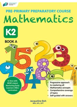 Pre-primary Preparatory Course Mathematics K2 Book A
