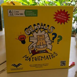 Genius Mathematics Board Game