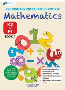 Pre-Primary Preparatory Course Mathematics (K2-P1) Book A