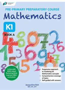 Pre-primary Preparatory Course Mathematics K1 Book A