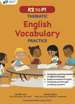K2 to P1 Thematic English Vocabulary Practice