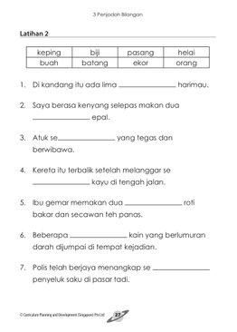 Lestari Bahasa Kita Latihan Intensif 1