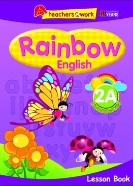 Rainbow English Lesson Book K2A