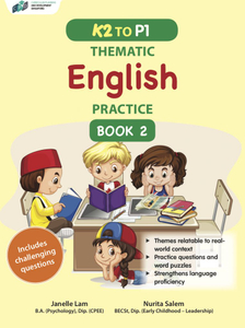 K2 to P1 Thematic English Practice Book 2