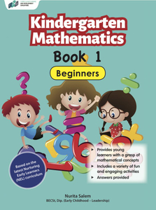 Kindergarten Mathematics Book 1 – Beginners