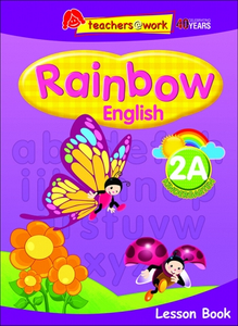 Rainbow English Lesson Book K2A