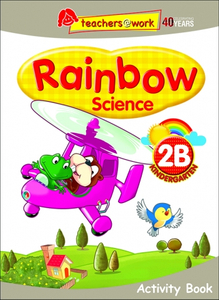Rainbow Science Activity Book K2B
