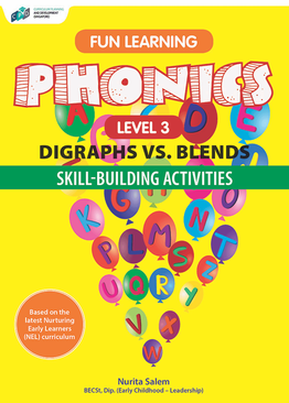Fun Learning Phonics – Digraphs vs Blends Level 3