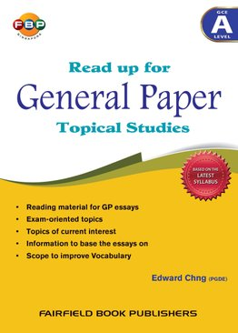 Read up for General Paper Topical Studies