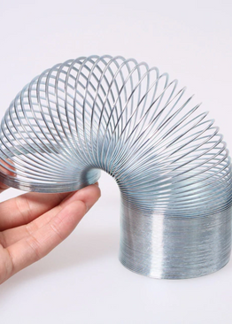 Educational Popular Toy Hand Eye Coordination Play N Learn Metal Slinky