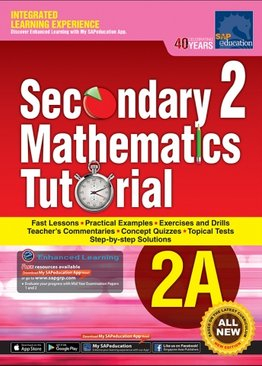 Secondary Two Mathematics Tutorial 2A