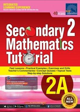 Secondary Two Mathematics Tutorial 2A