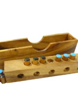 Play N Learn Smart Mathematics Wooden Frogs Game
