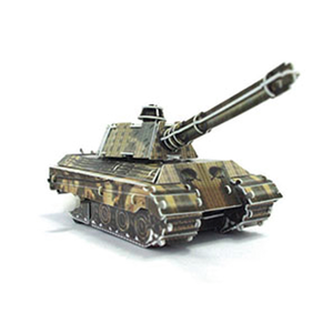 Play N Learn Science Toy 3D Wind-Up Puzzle King Tiger Tank