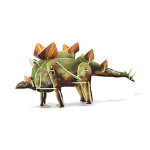 Jigsaw Puzzle Play N Learn 3D Wind-Up Stegosaurus Educational Party Gift