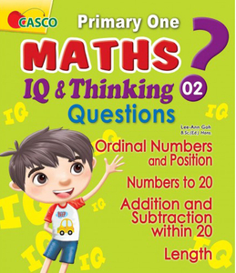 P1 Maths IQ & Thinking Questions Book 2