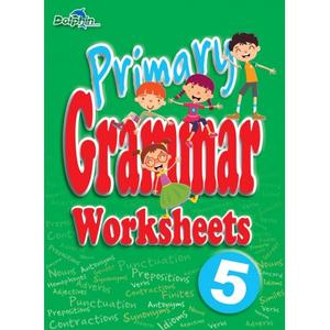 Primary Grammar Worksheets 5