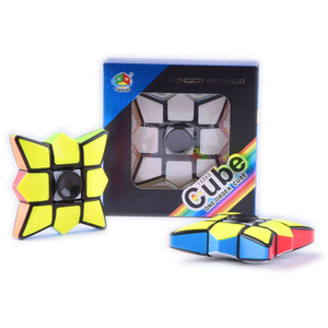 Play N Learn IQ Cubic Spinner 2 in 1 Fidget Spinner and Rubik Cube