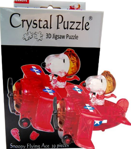 3D Crystal Puzzle Snoopy Flying Ace