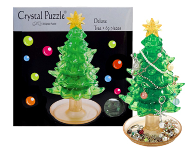 3D Crystal Puzzle Tree