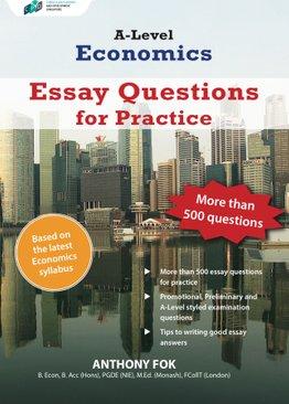 A-Level Economics: Essay Questions for Practice