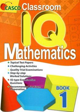 Classroom IQ Mathematics 1
