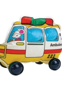 Creative Play N Learn Party Gift Craft Colorloon Colour and Inflate 3D Vehicle DIY Kit Ambulance