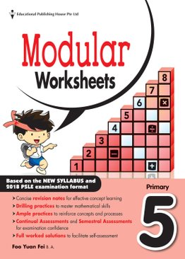 Maths Modular Worksheets 5 (Revised)
